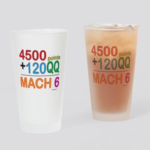 MACH 6 formula Drinking Glass