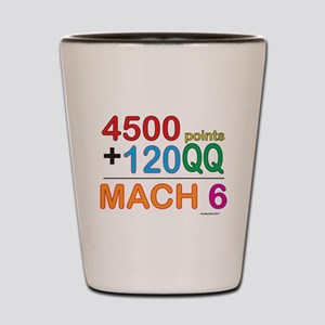 MACH 6 formula Shot Glass