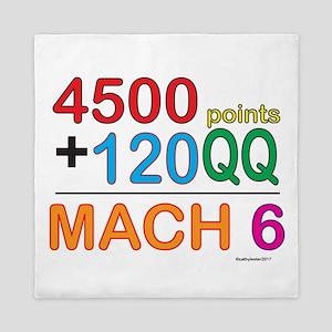 MACH 6 formula Queen Duvet