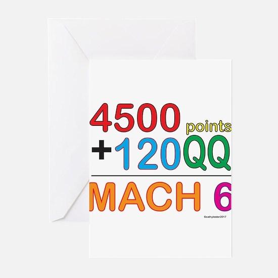 MACH 6 formula Greeting Cards (Pk of 10)