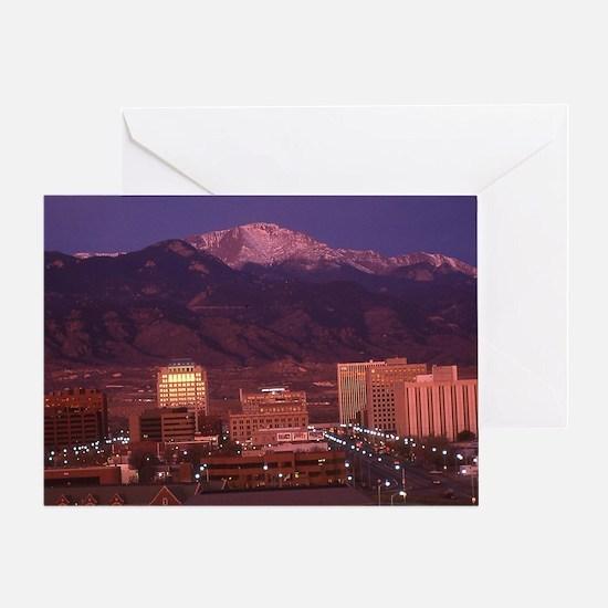 Unique Pikes peak Greeting Card