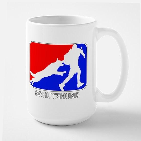 Schutzhund Red and Blue Mugs