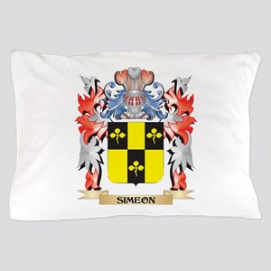 Simeon Coat of Arms - Family Crest Pillow Case