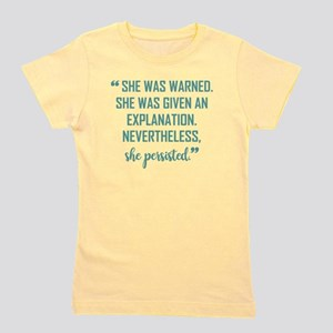 SHE PERSISTED Girl's Tee