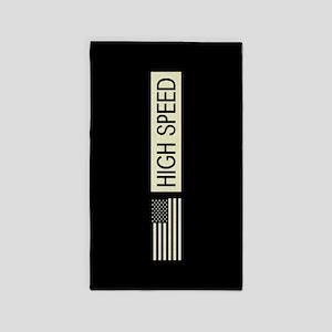 High Speed (Reverse Black Flag) Area Rug