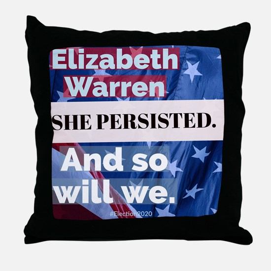 Unique Elizabeth warren Throw Pillow