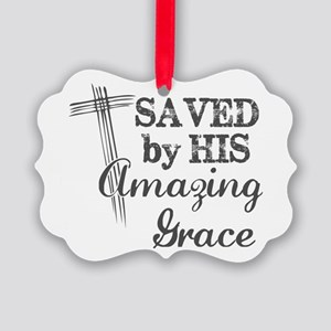 Amazing Grace Picture Ornament