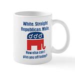 Republican Male Mug