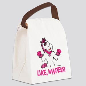 Like, Whatevs! Canvas Lunch Bag