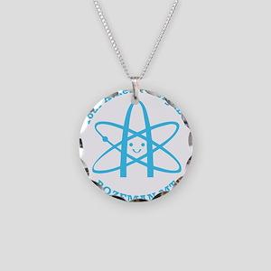 Atheist Neighbor Bozeman BLUE Necklace