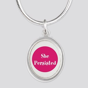 She persisted, support women Necklaces