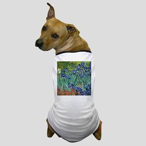 Van Gogh Iris Dog T-Shirt