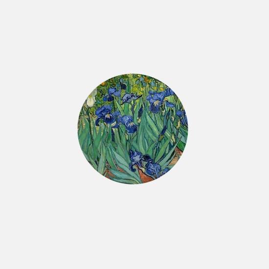 Van Gogh Iris Mini Button