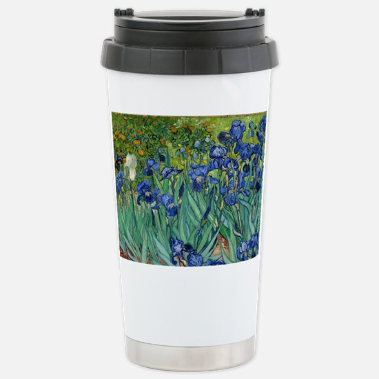 Van Gogh Iris Travel Mug