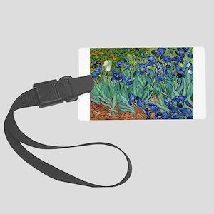Van Gogh Iris Luggage Tag