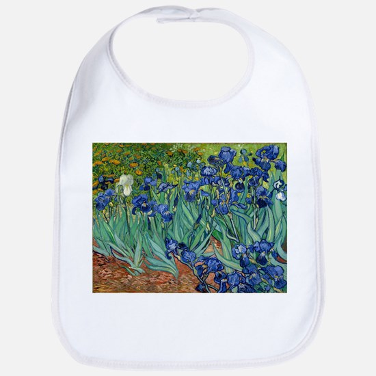 Van Gogh Iris Baby Bib