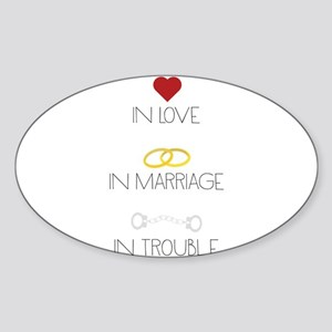 Love Marriage Trouble Sticker
