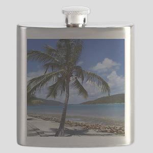 Bitter End Yacht Club Palm Tree Flask