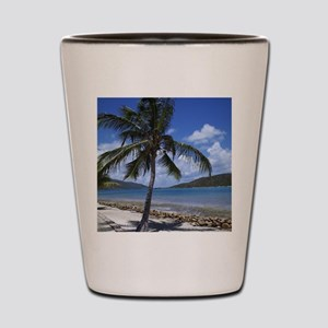 Bitter End Yacht Club Palm Tree Shot Glass
