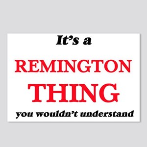 It's a Remington thin Postcards (Package of 8)