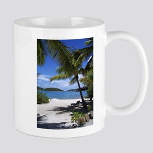 Bitter End Beach - Virgin Gorda Mugs