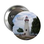"Marblehead Lighthouse 2.25"" Button"