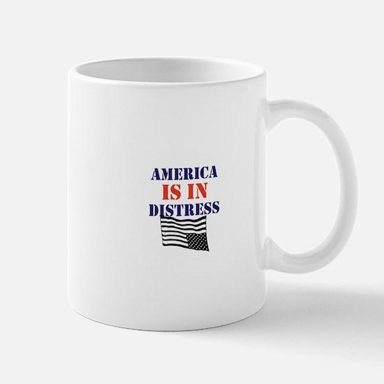 America is in Distress Mugs
