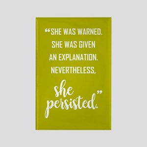 SHE PERSISTED Magnets