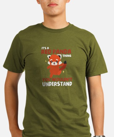 Kids Red Panda T-Shirt T-Shirt