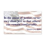 Cause of Justice Wall Decal
