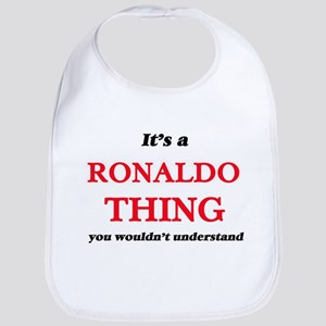 It's a Ronaldo thing, you wouldn' Baby Bib