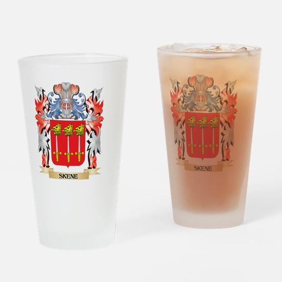 Skene Coat of Arms - Family Crest Drinking Glass