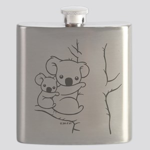Koala Bears Flask