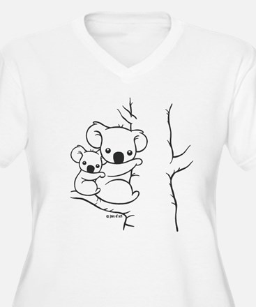 Koala Bears Plus Size T-Shirt