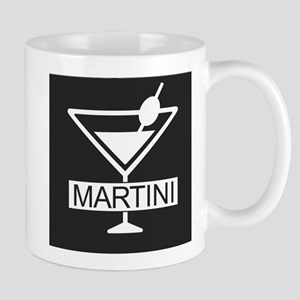 Martini - Black Mugs