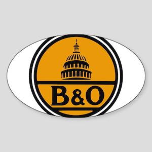 Baltimore and Ohio train logo Sticker