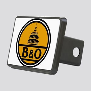 Baltimore and Ohio train l Rectangular Hitch Cover