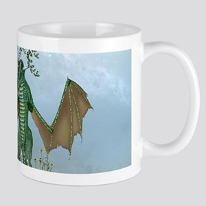 Cute little fairy with dragon Mugs