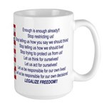 Legalize Freedom Coffee Mug
