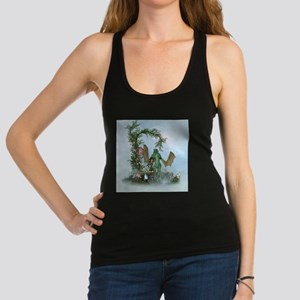 Cute little fairy with dragon Tank Top
