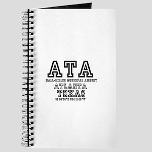 TEXAS - AIRPORT CODES - ATA - HALL~MILLER Journal