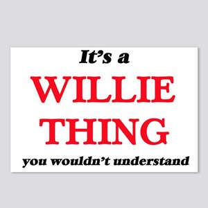 It's a Willie thing, Postcards (Package of 8)