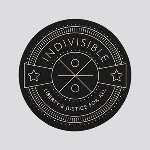 """Indivisible 3.5"""" Button"""
