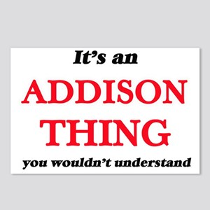 It's an Addison thing Postcards (Package of 8)