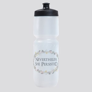 nevertheless she persisted Sports Bottle