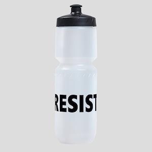Resist 2 Black Sports Bottle
