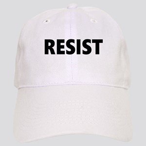 Resist 2 Black Baseball Cap