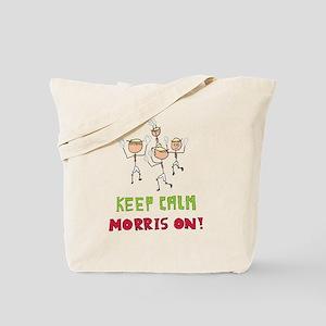 Keep Calm Morris Dancing Tote Bag