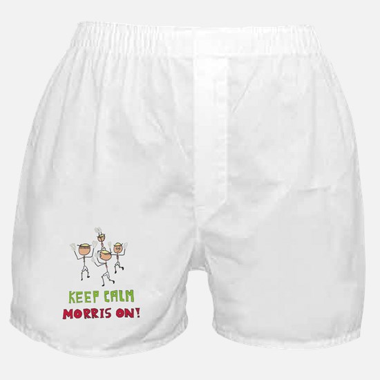 Keep Calm Morris Dancing Boxer Shorts