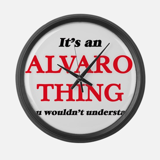 It's an Alvaro thing, you wou Large Wall Clock